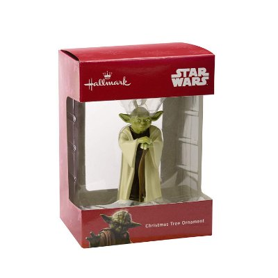 Ornamento Arvore Natal Hallmark Star Wars Yoda