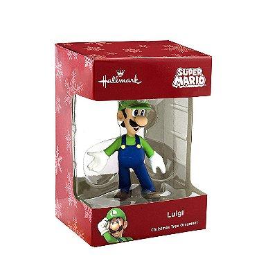 Ornamento Arvore Natal Hallmark Super Mario Bros Luigi