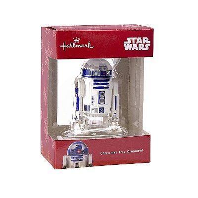 Ornamento Arvore Natal Hallmark Star Wars R2-D2