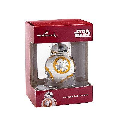 Ornamento Arvore Natal Hallmark Star Wars BB-8 Droid