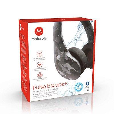 Fone Sem Fio Motorola Pulse Escape+ Plus Headphones - Camo