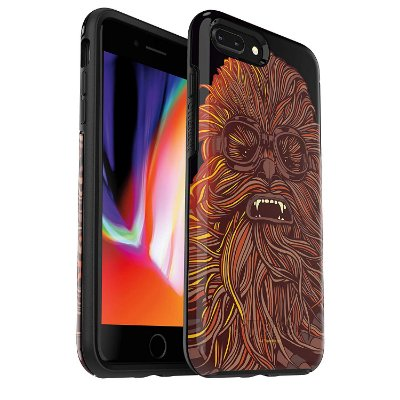 Case iPhone 8 Plus & iPhone 7 Plus Symmetry Star Wars Chewbacca - Otterbox