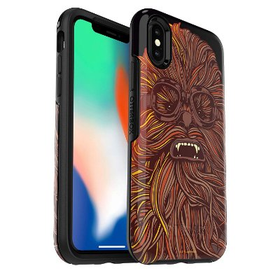 Case iPhone Xs & iPhone X Symmetry Star Wars Chewbacca - Otterbox