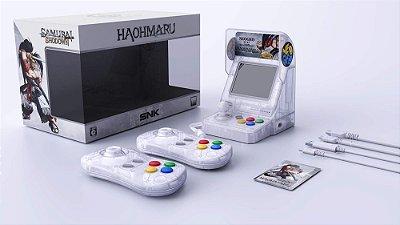 SNK NEOGEO Mini Samurai Shodown Limited Ed Bundle Haohmaru