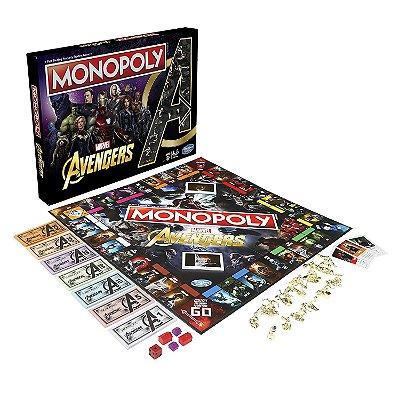 Monopoly Avengers Vingadores Hasbro (Inglês)