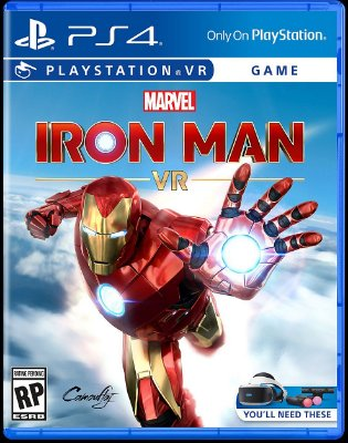 Marvel Iron Man VR - PS4 VR