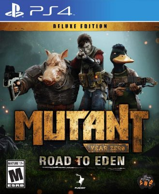 Mutant Year Zero Road to Eden Deluxe Edition - PS4