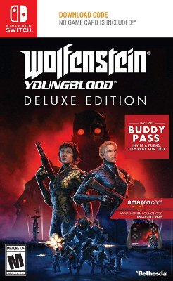 Wolfenstein Youngblood Deluxe Edition - Switch