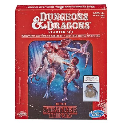 Stranger Things Dungeons & Dragons RPG Boardgame Starter Set