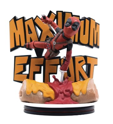 Deadpool Maximum Effort Q-Fig Diorama QMx