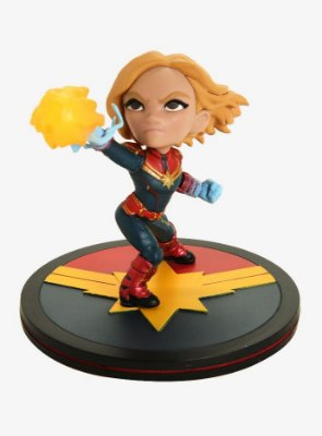 Captain Marvel Q-Fig Diorama QMx