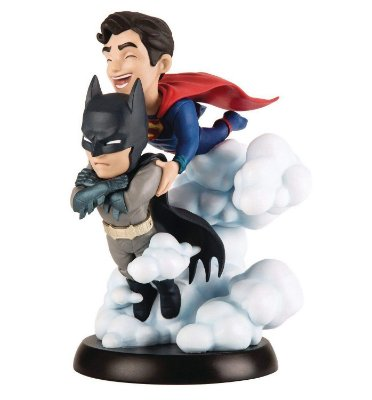 Batman & Superman Q-Fig Diorama QMx