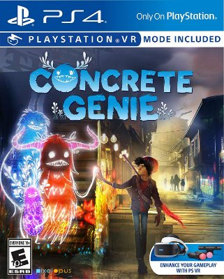 Concrete Genie C/ VR Mode - PS4