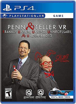 Penn & Teller VR Frankly 4U - PS4 VR