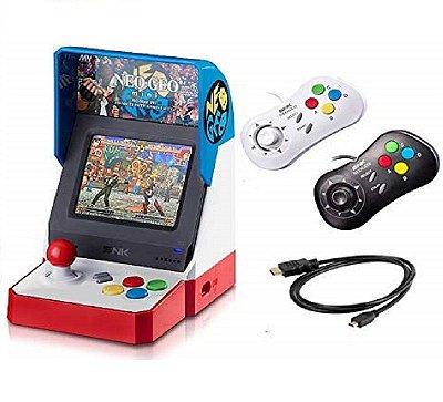 Neogeo Mini Pro Player Pack C/ 2 Gamepads - Neo Geo Pocket