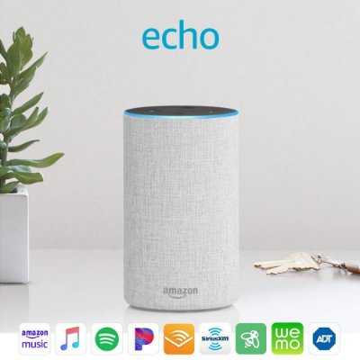 Amazon Echo 2nd Gen. Smart Speaker C/ Alexa - White