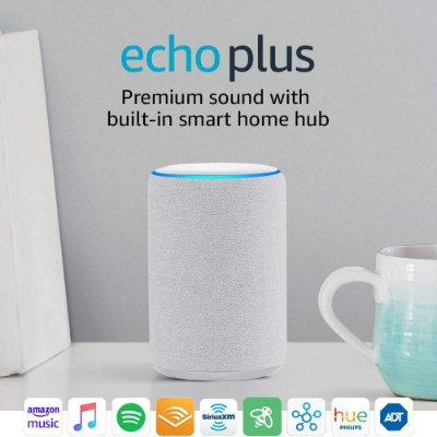Amazon Echo Plus 2nd Gen Smart Home Hub C/ Alexa - White