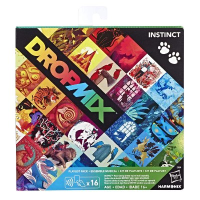 Dropmix Playlist Pack 16 Cartas - Instinct