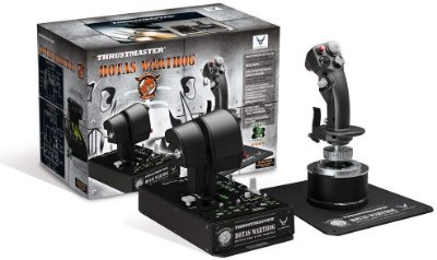 Thrustmaster Hotas Warthog Joystick Flight Stick + Throttle - PC