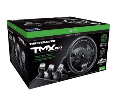 Volante c/ Pedais Thrustmaster TMX PRO Racing - Xbox One e PC