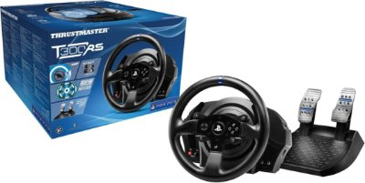 Volante c/ Pedais Thrustmaster T300RS - PS4/PS3/PC