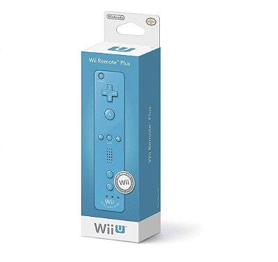 Controle Wii Remote Plus Blue Azul - Nintendo