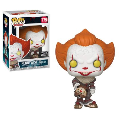 Funko Pop It 779 Pennywise with Beaver Hat Exclusive