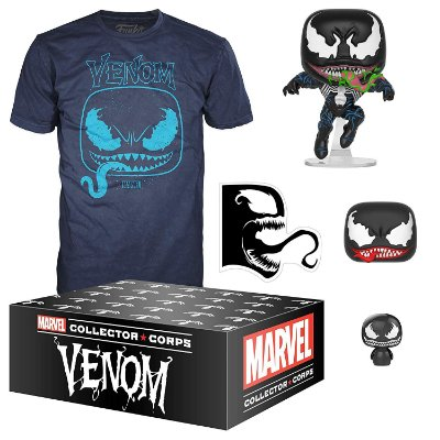 Funko Marvel Collector Corps Venom Medium (M)