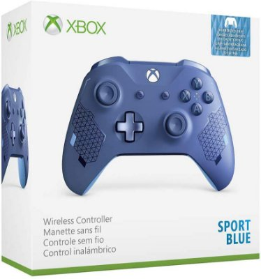 Controle Xbox One Wireless Sport Blue Special Edition