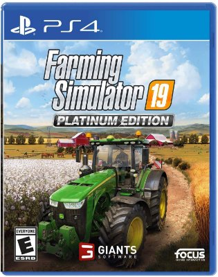 Farming Simulator 19 Platinum Edition - PS4