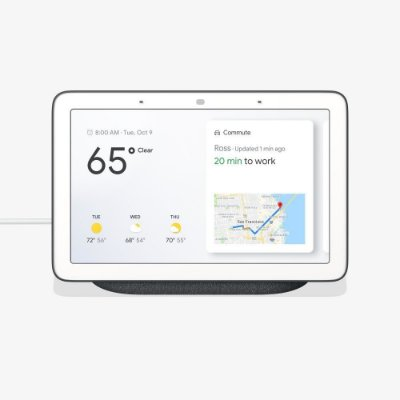 Google Home Hub Com Google Assistant - Charcoal