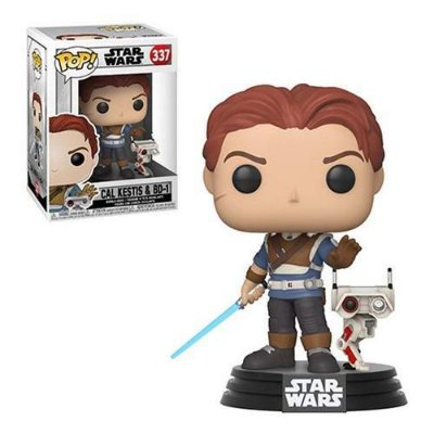 Funko Pop Games Jedi Fallen Order 337 Cal Kestis with BD-1