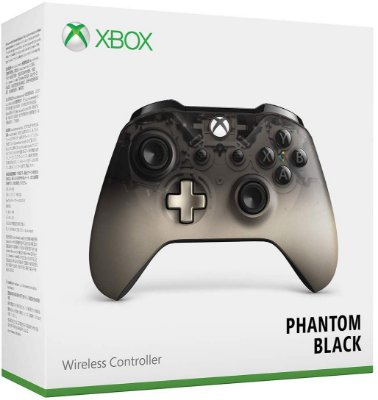 Controle Xbox Wireless Phantom Black Special Edition - Xbox One / PC