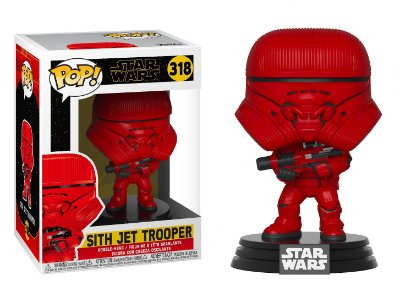 Funko Pop Star Wars Episode 9 Rise of Skywalker 318 Sith Jet Trooper