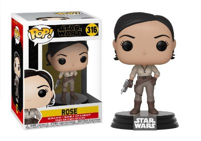 Funko Pop Star Wars Episode 9 Rise of Skywalker 316 Rose