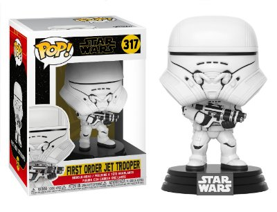 Funko Pop Star Wars Rise of Skywalker 317 First Order Jet Trooper