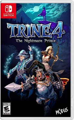 Trine 4 The Nightmare Prince - Switch