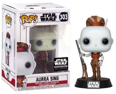 Funko Pop Star Wars 303 Aurra Sing Exclusive