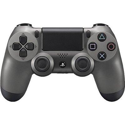 Controle DualShock 4 Wireless Controller Steel Black - PS4