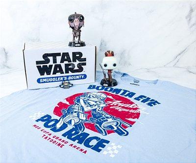Funko Pop Star Wars Smugglers Bounty Pod Racer Collectors Box - S