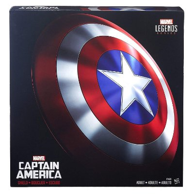 Escudo Capitão América Marvel Legends Captain America Shield