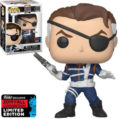 Funko Pop Marvel 80th 528 Nick Fury NYCC 2019