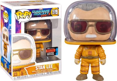 Funko Pop Guardians of The Galaxy 519 Stan Lee NYCC 2019