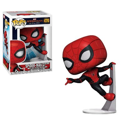 Funko Pop Far from Home 470 Spider-Man Upgraded Suit