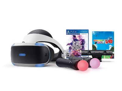 PlayStation VR Zvr2 Blood & Truth Everybodys Golf Bundle - PS4 VR