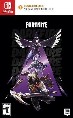 Fortnite Darkfire Bundle Fogo Sombrio - Switch