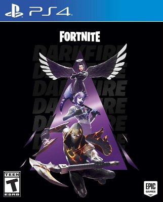 Fortnite Darkfire Bundle Fogo Sombrio - PS4
