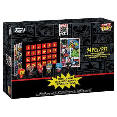 Funko Pop Advent Calendar Marvel 80th Anniversary 24 Peças