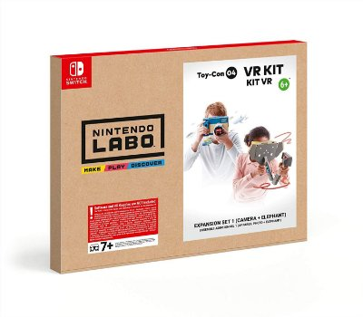 Nintendo Labo VR Kit Expansion Set 1 Camera and Elephant - Switch