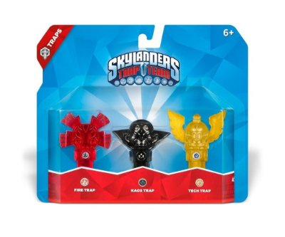Skylanders Trap Team: Fire, Kaos, Tech Triple Trap Pack